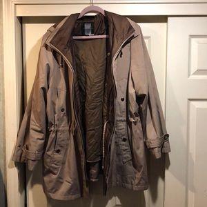 Miss Gallery rain coat in size 2x.